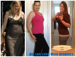 Cassies results with Insanity