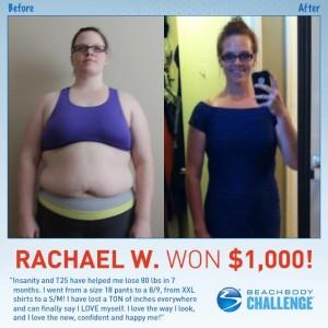 beachbody challenge finalist