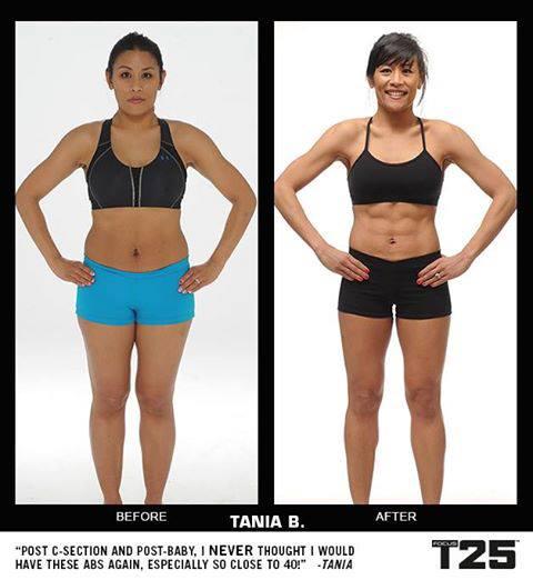 Focus T25 Calendar Jessica Bowser Nelson Fitness